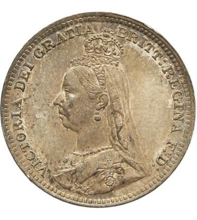 Wielka Brytania 3 pensy 1890