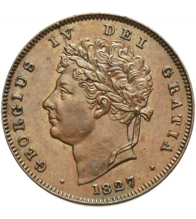 Wielka Brytani1 1/3 farthinga 1827