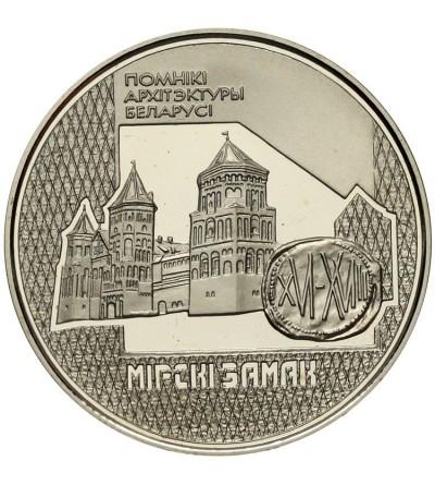 Białoruś rubel 1998, Zamek w Mirze