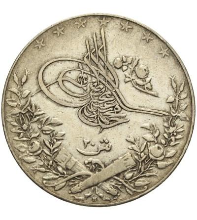 Egipt 20 qirsh 1327 / 3 AH - 1911 AD