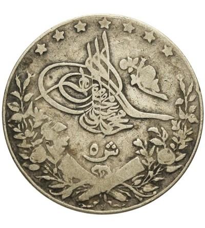 Egipt 5 qirsh 1327 AH / 1909 AD