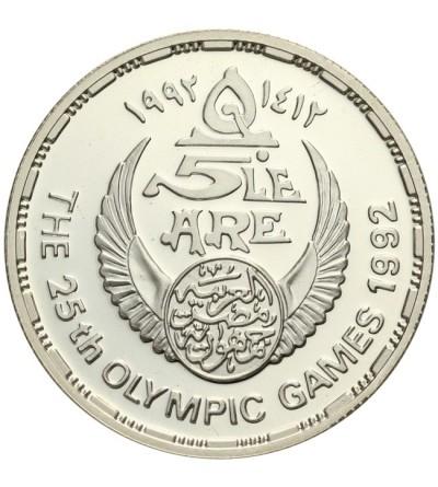 Egipt 5 funtów 1992, letnie Igrzyska