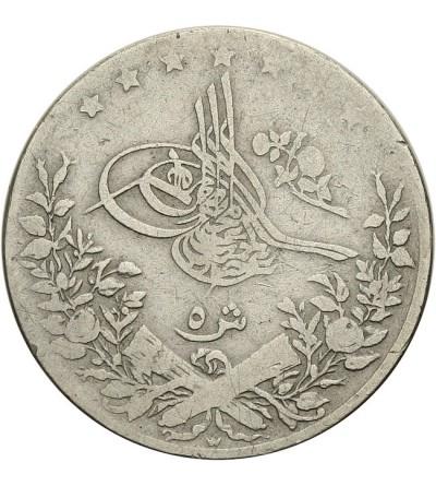Egipt 5 qirsh 1293 / 10 AH - 1884 AD