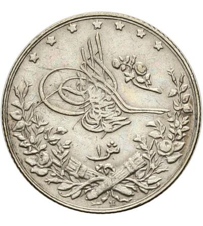 Egipt 1 qirsh 1293 / 2 AH - 1910 AD