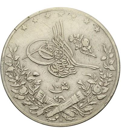 Egipt 10 qirsh 1293 / 33 AH - 1907 AD