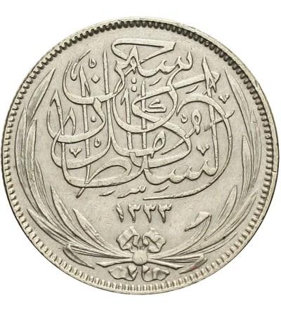 Egipt 2 piastres 1917 H