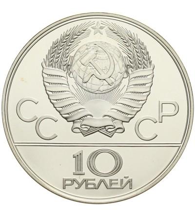ZSRR 10 rubli 1978 - Igrzyska Olimpijskie w Moskwie - kolarstwo