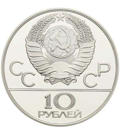 ZSRR 10 rubli 1978 - Igrzyska Olimpijskie w Moskwie - wioślarstwo Proof