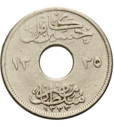 Egipt 2 milliemes 1917
