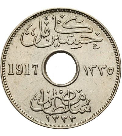 Egipt 5 milliemes 1917