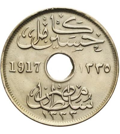 Egipt 10 milliemes 1917 H