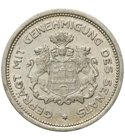 Hamburg 1/100 verrechnungsmarke 1923