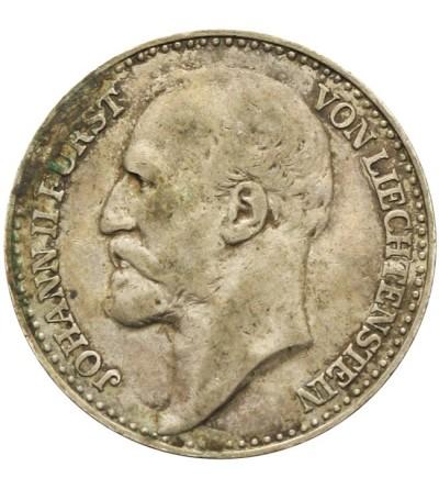 Lichtensztajn 1 korona 1904