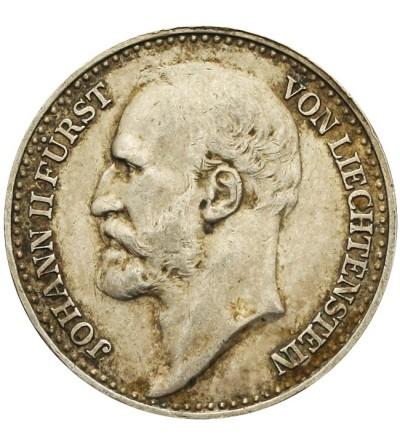 Lichtensztajn 1 korona 1910