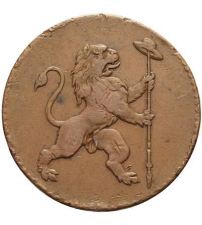 2 liards 1790, Bruksela - belgijskie powstanie