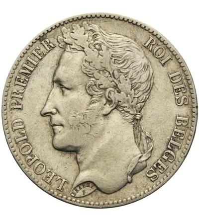 Belgia 5 franków 1848