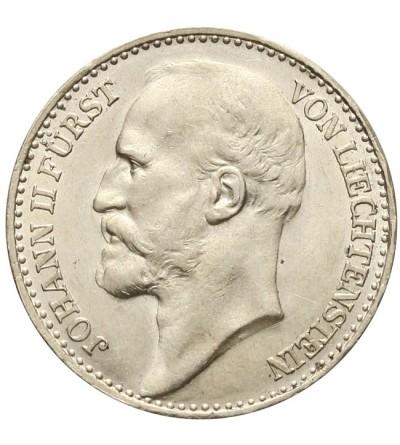 Lichtensztajn 1 korona 1915
