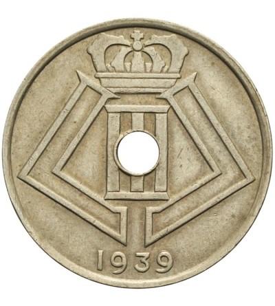 Belgia 25 centimes 1939, BELGIQUE