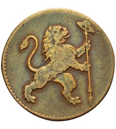 Belgia 1 liard 1790, Brukcela - belgijskie powstanie