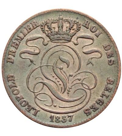 Belgia 5 centimes 1857