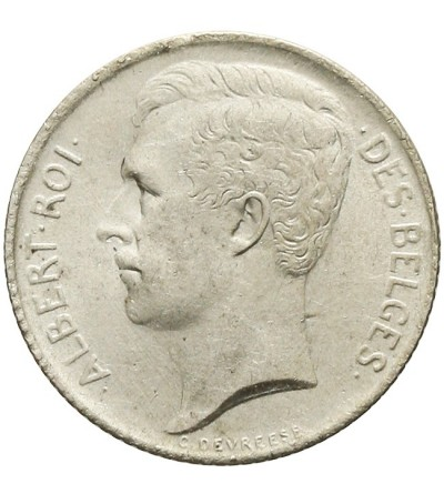Belgia 50 centimes 1912, BELGES