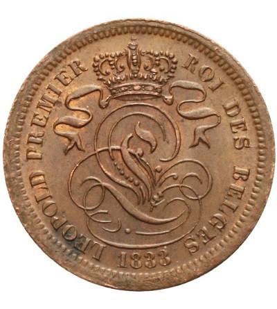 Belgia 2 centimes 1833