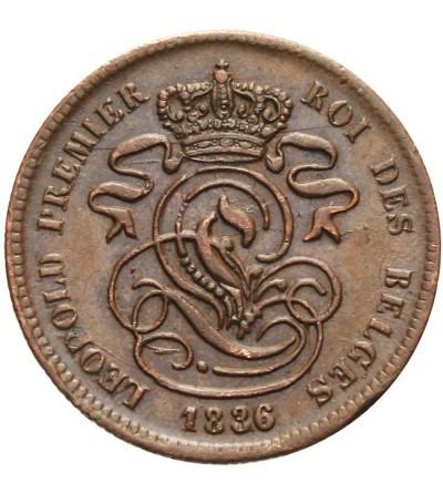 Belgia 2 centimes 1836