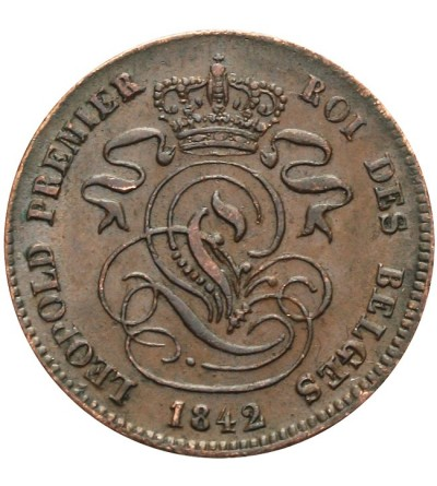 Belgia 2 centimes 1842