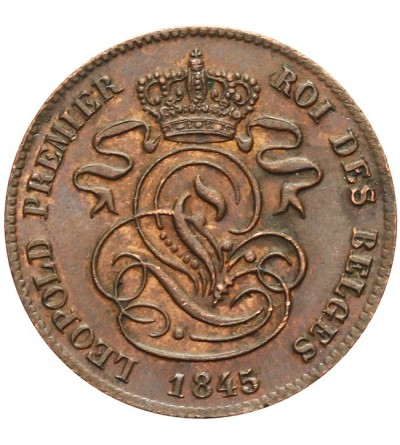 Belgia 2 centimes 1845