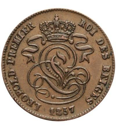 Belgia 2 centimes 1857