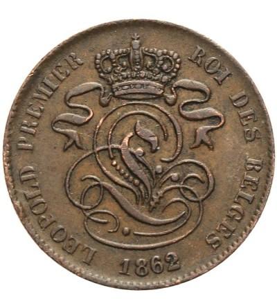 Belgia 2 centimes 1862