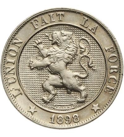 Belgia 5 centimes 1898, BELGES