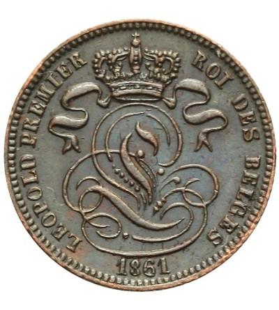 Belgia 1 centime 1861