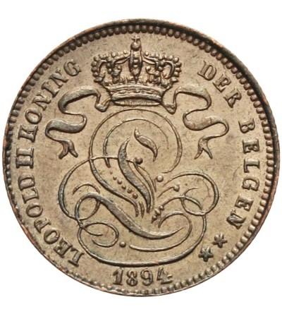 Belgia 1 centime 1894