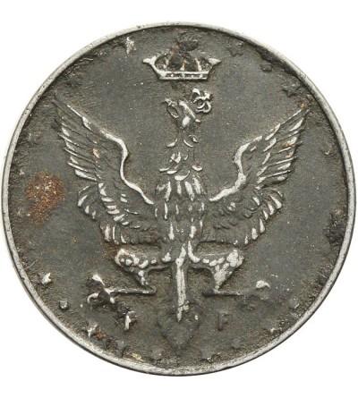 Królestwo Polskie 10 fenigów 1917, Stuttgart
