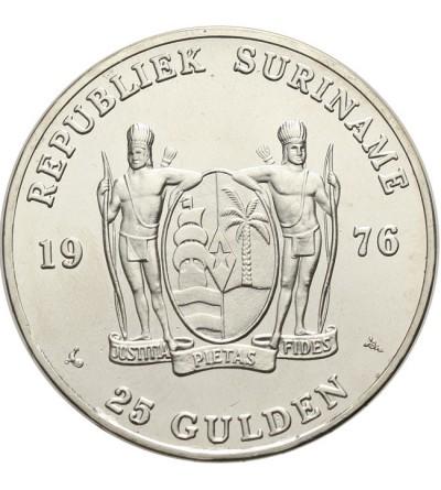 Suriname 25 gulden 1976