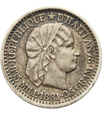 Haiti 10 centimes 1886