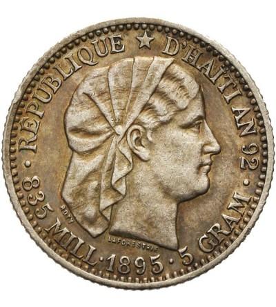 Haiti 20 centimes 1895