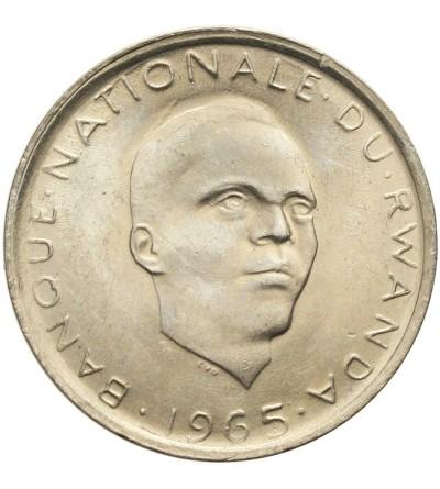 Rwanda 1 frank 1965