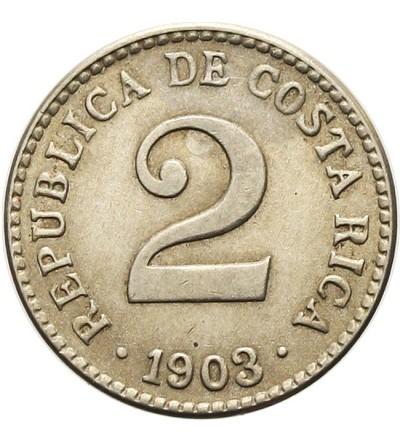 Kostaryka 2 centavos 1903
