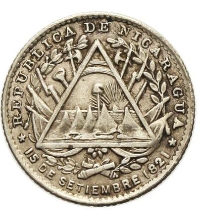 Nikaragua 5 centavos 1887 H