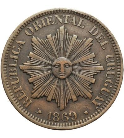 Urugwaj 4 centesimos 1869 H