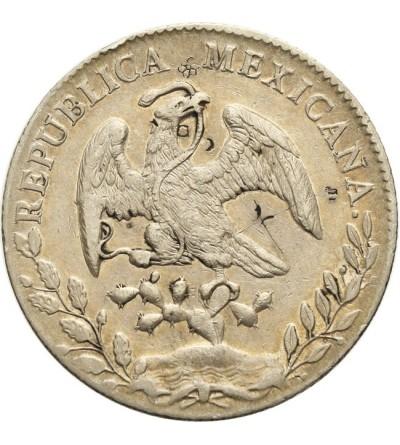 Meksyk 8 reales 1895 Mo AM