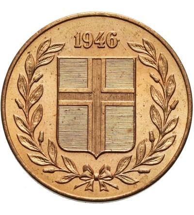 Islandia 5 aurar 1946