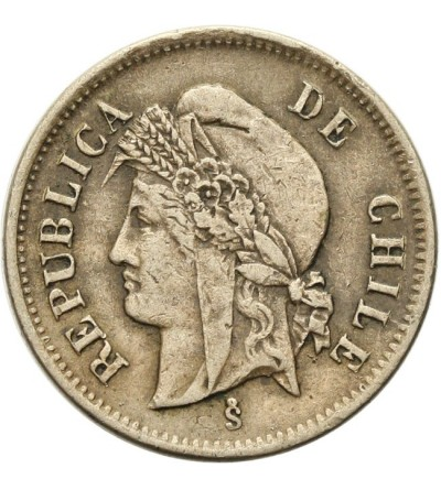 Chile 1 centavo 1873