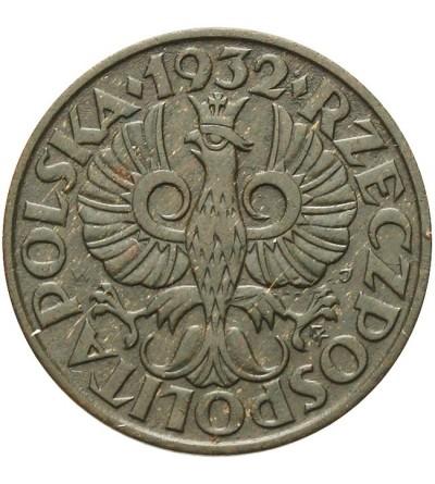 2 grosze 1932, Warszawa