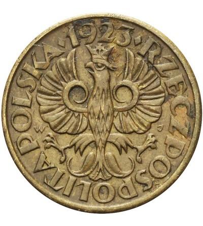 5 groszy 1923, Warszawa