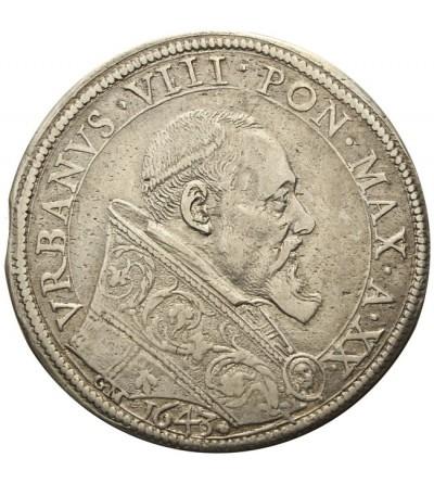 Watykan Piastra 1643 A/XX, Urban VIII