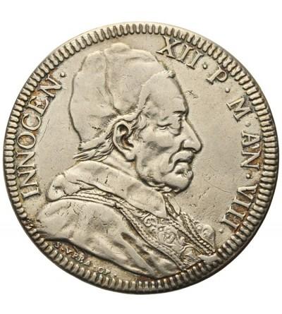 Watykan piastra 1698, Innocenty XIII