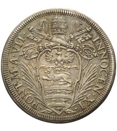 Watykan, 1/2 Piastra A VII (1682/1683), Rzym, Innocenty XI 1676-1689